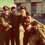 Right To Left: Itay Morchi, Guy Braham, Yoel Dorot, Daniel Solomonov